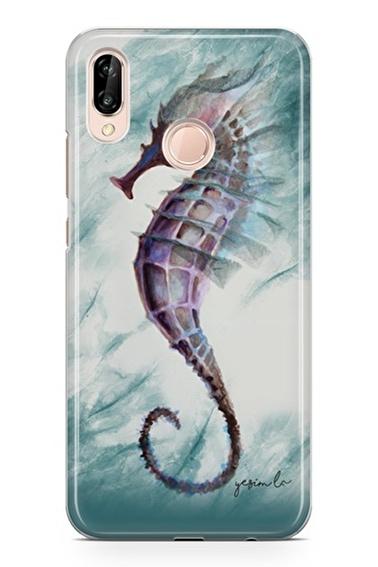Lopard Huawei Y9 2019 Kılıf Denizatı Kapak Renkli